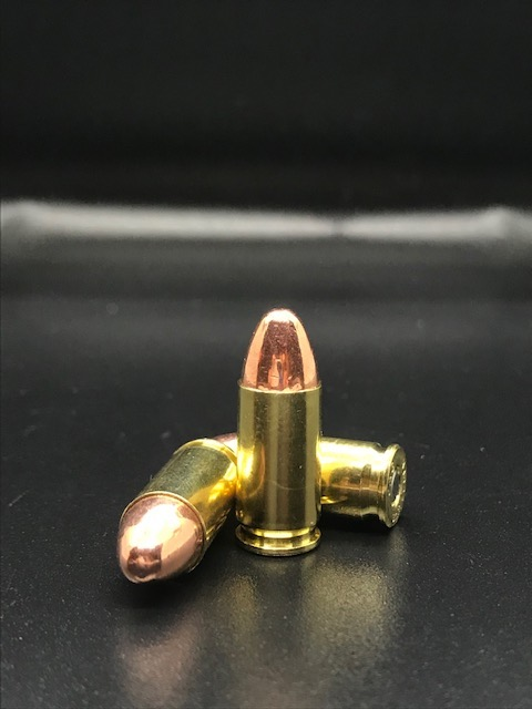 (50 Rounds) NEW 9MM Luger 115 Grain FMJ