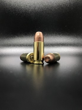 (250 Rounds) NEW 9MM Luger 115 grain 100% Copper Bullet