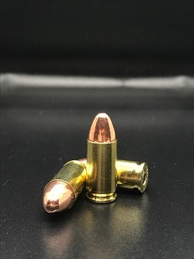 (100 Rounds) NEW 9MM Luger 124 Grain FMJ